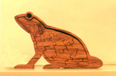 74. Frog in Santana Rosewood<br/>150 x 96mm